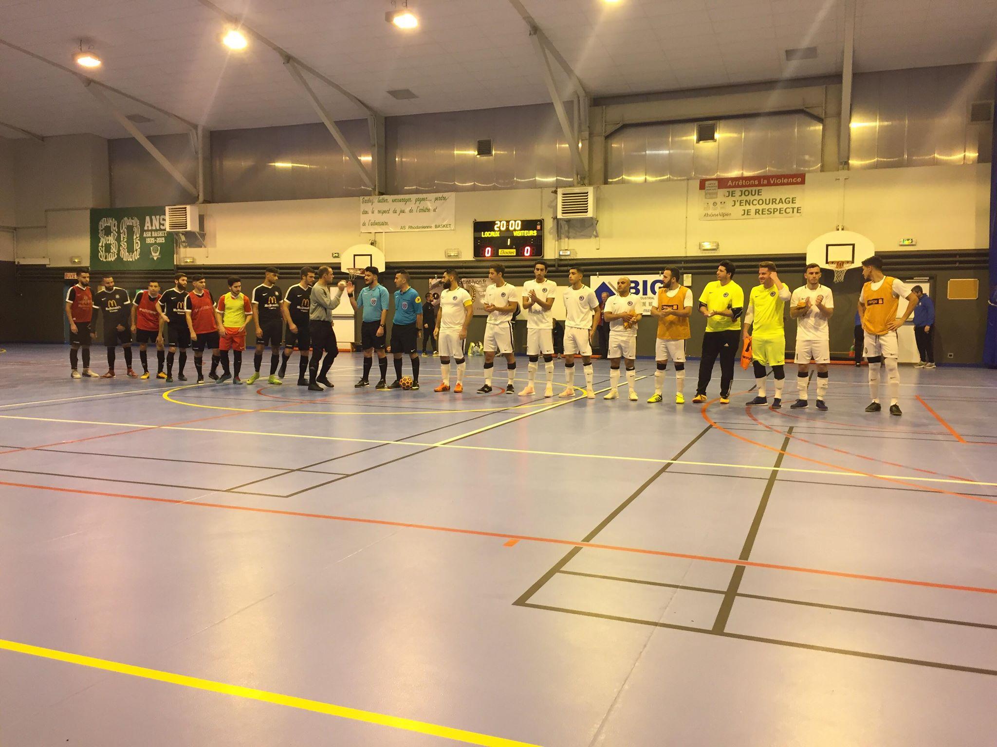 équipes ALF Futsal vs Condrieu