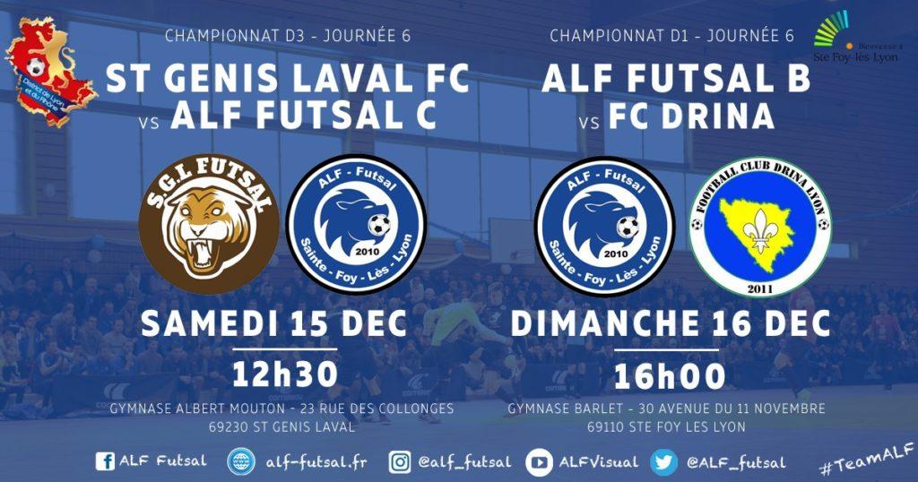 AFFICHE J6 - D1 et D3 ALF Futsal -2