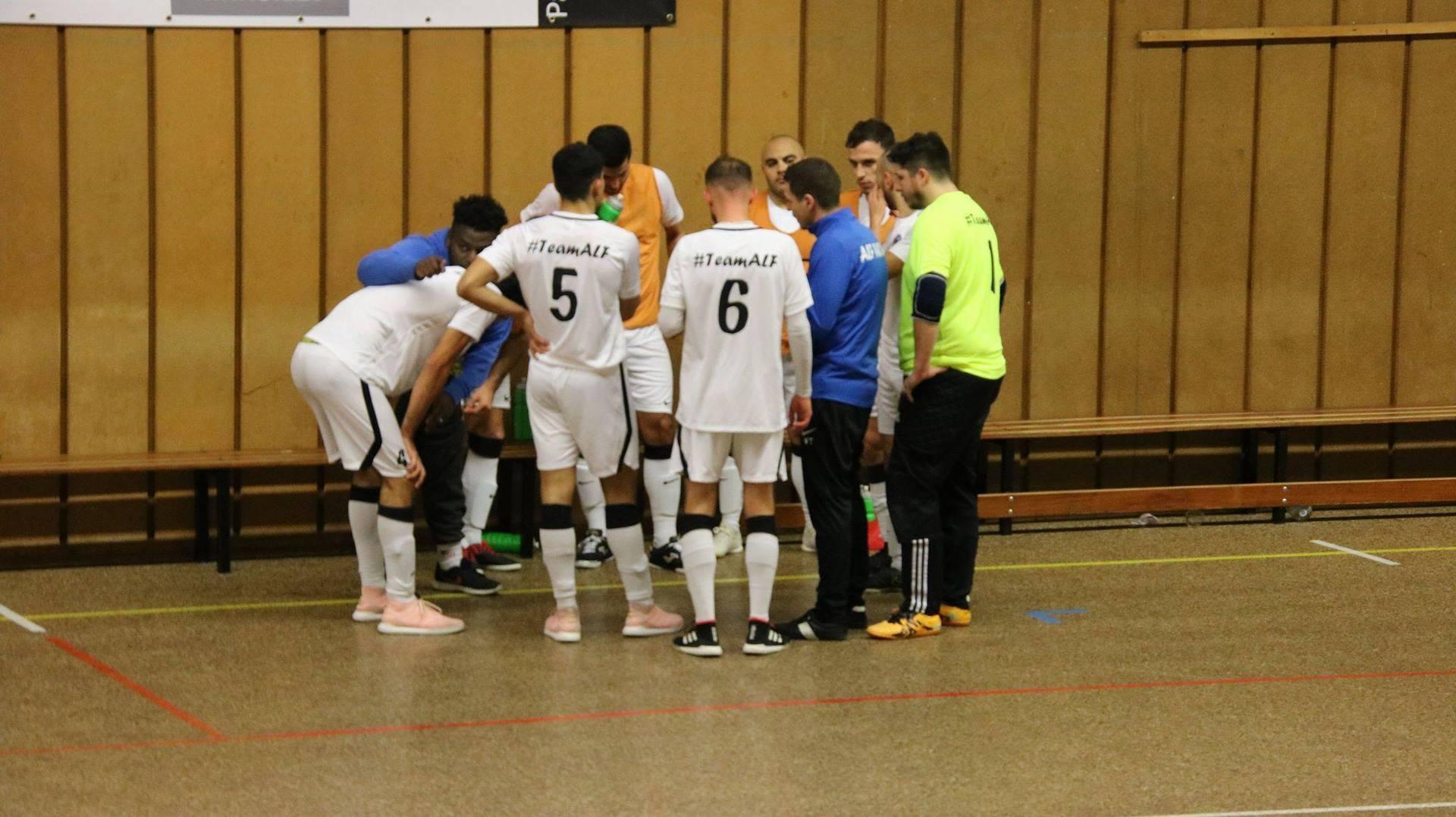 équipe ALF vs Vaulx futsal coaching
